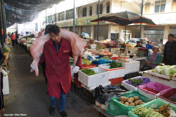 Vegatable market Songpan