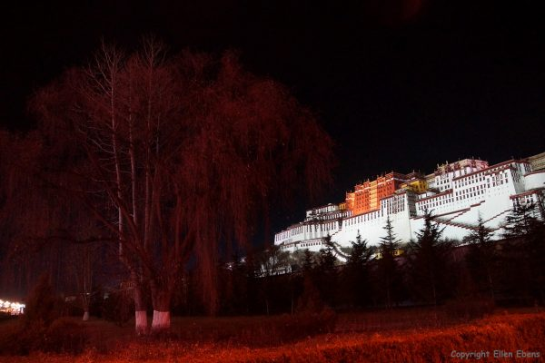 The Potala Palace by evening