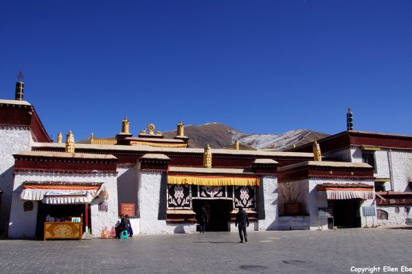 The Tandruk Temple near the city of Tsedang