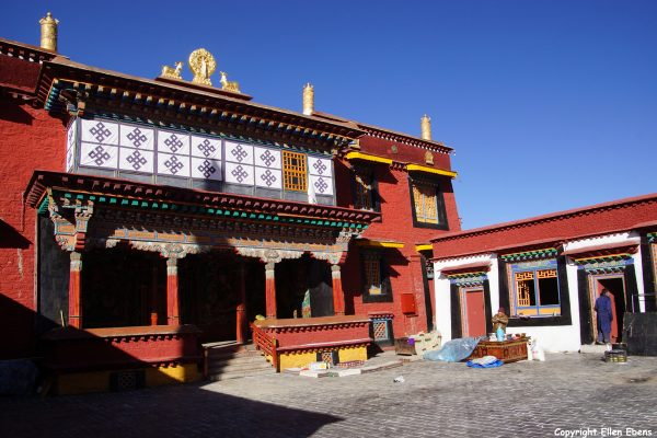 The Ganden Chökhorling Monastery at Tsedang