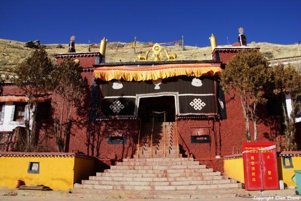 Nedong Monastery near Tsedang