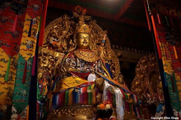 Statue at Samye Monastery