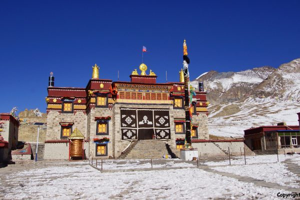 The new assembly hall of Ralung Monastery