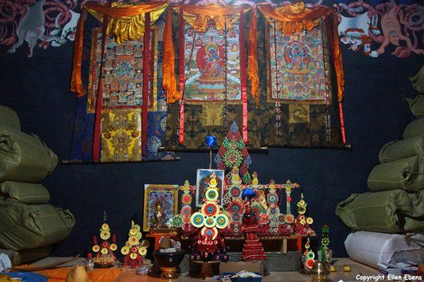 Inside Ralung Monastery