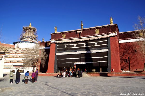 The Pelkor Chöde Monastery with the Kumbum Stupa at Gyantse