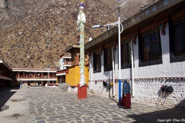 Garu Nunnery near Lhasa